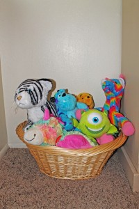 Stuffed Animal Basket