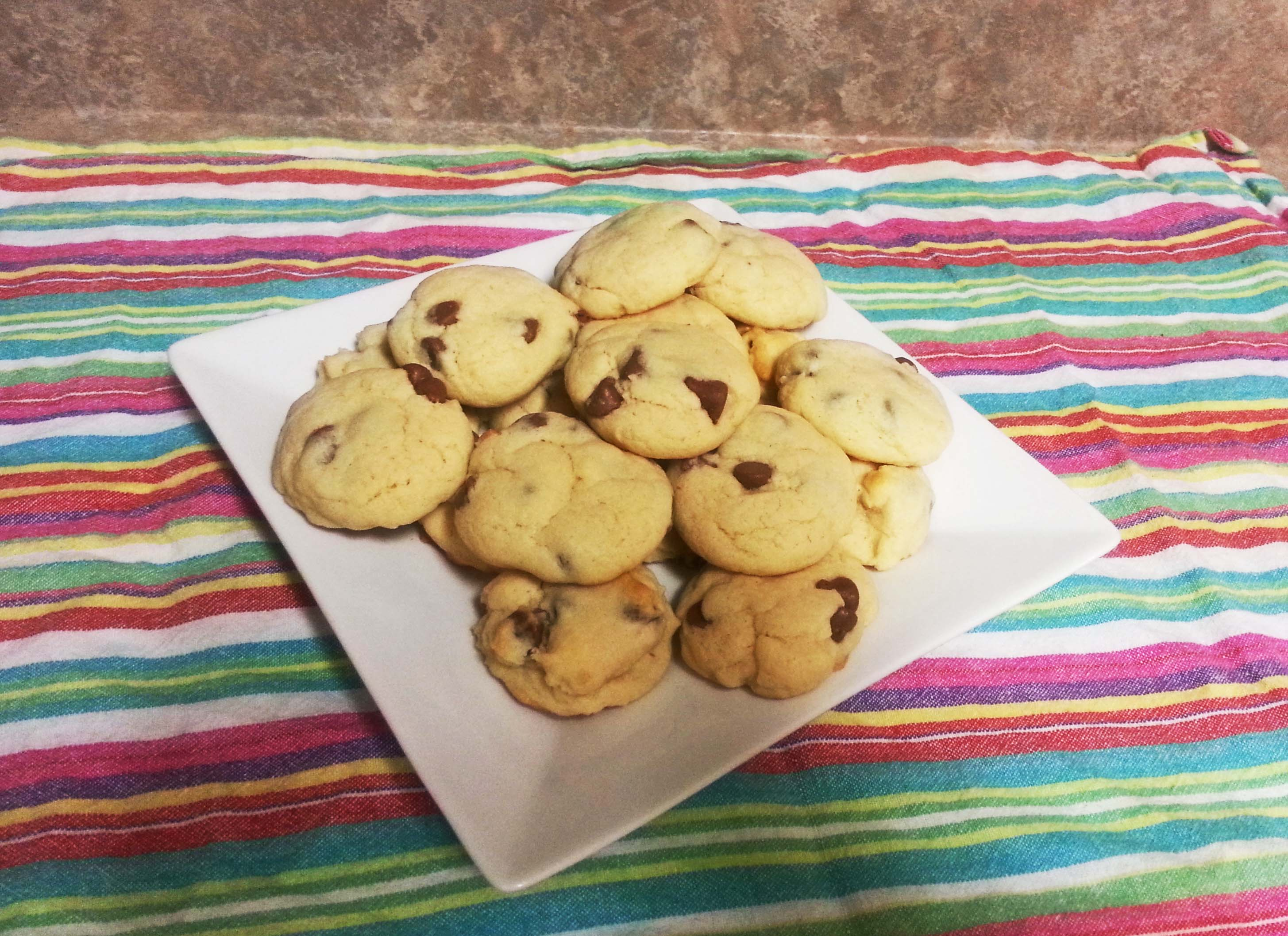 Squishy Chocolate Chip Cookies : Super Soft Chocolate Chip Cookies- WITHOUT Brown Sugar! ? Hey Sunny Jess