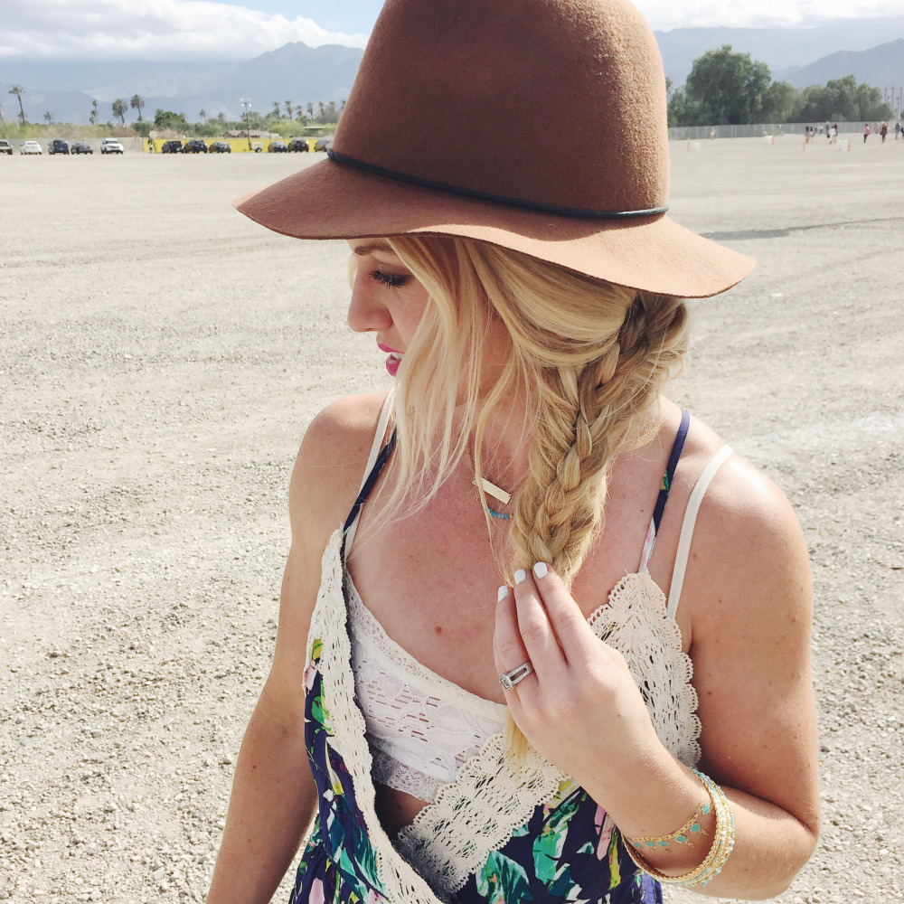 The gorgeous Christine from Moxie- how cute is this braid paired with this cute hat??