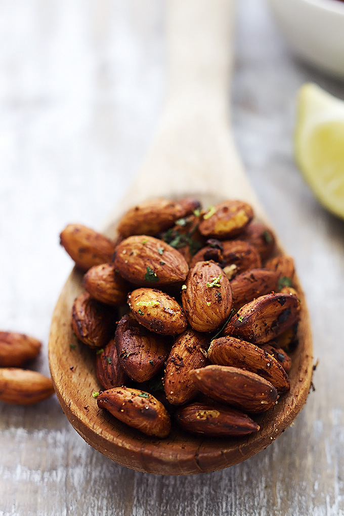 Photo via: http://lecremedelacrumb.com/2015/01/10-minute-chili-lime-almonds.html